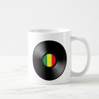 Vinyl reggae classic white coffee mug