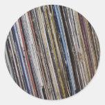 Vinyl Round Sticker