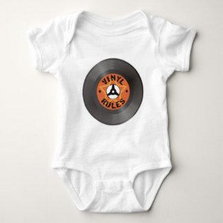Vinyl Rules Baby Bodysuit