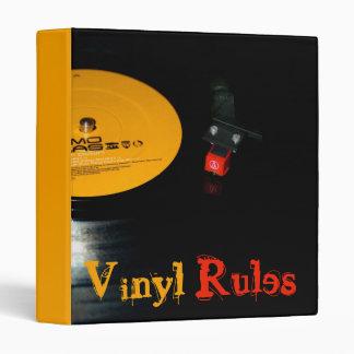 Vinyl Rules Binder