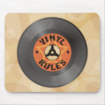 Vinyl Rules Mouse Pad