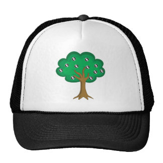 Vinyl Tree Trucker Hat
