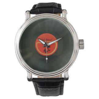 Vinyl Wrist Watch