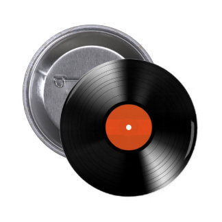 Vinyle Record 2 Inch Round Button