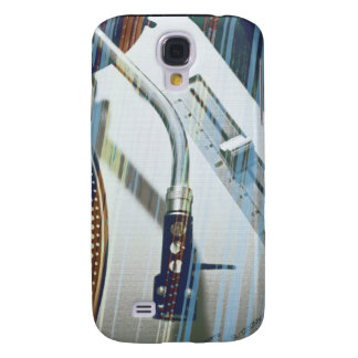 vinylrain Red blues Samsung Galaxy S4 Cover