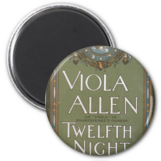 Viola Allen, 'Twelfth Night' Vintage Theater Refrigerator Magnets