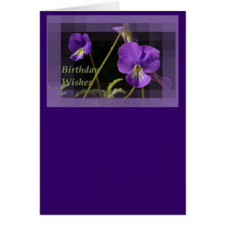 Viola Birthday Wishes Cards