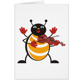 Viola Bug Card