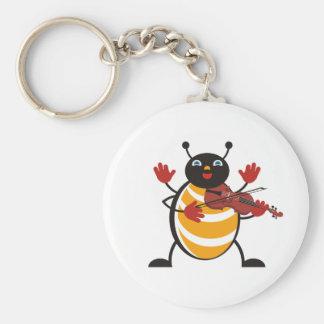Viola Bug Keychain
