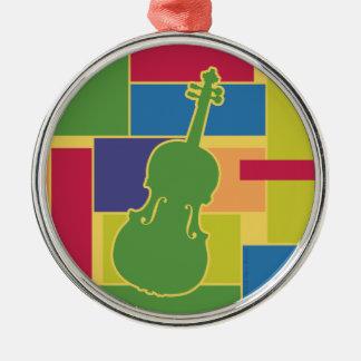 Viola Colorblocks Ornament