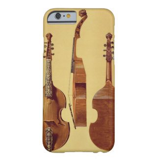 Viola d'Amore, 18th century, from 'Musical Instrum Barely There iPhone 6 Case
