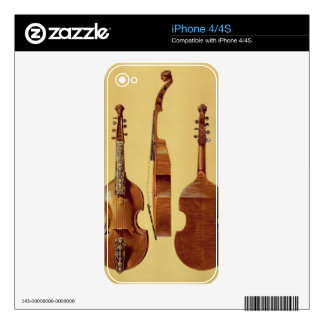 Viola d'Amore, 18th century, from 'Musical Instrum Skin For iPhone 4S