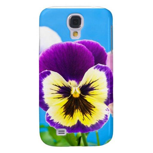 Viola flower iPhone Case Galaxy S4 Cases