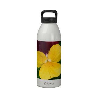 Viola Flower Drinking Bottles