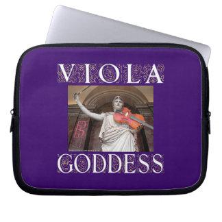Viola Goddess Laptop Sleeves