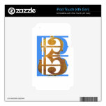 Viola in Alto Clef iPod Touch 4G Decal