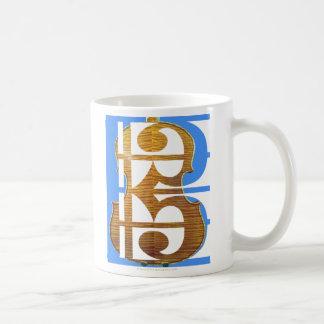 Viola in Alto Clef Classic White Coffee Mug