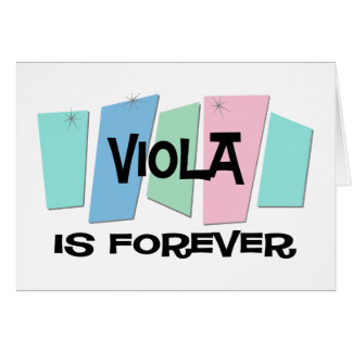 Viola Is Forever Cards