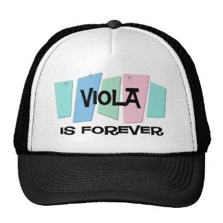 Viola Is Forever Mesh Hat