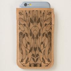 Viola Leafy Pattern iPhone 6/6S Case
