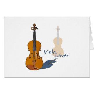 Viola Lover Card