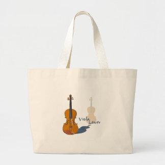 Viola Lover Large Tote Bag