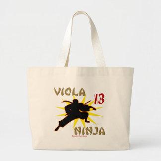 Viola Ninja Jumbo Tote Bag