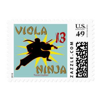 Viola Ninja Stamps