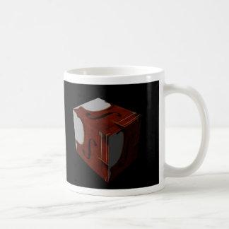 Viola or Violin Cube Coffee Mug