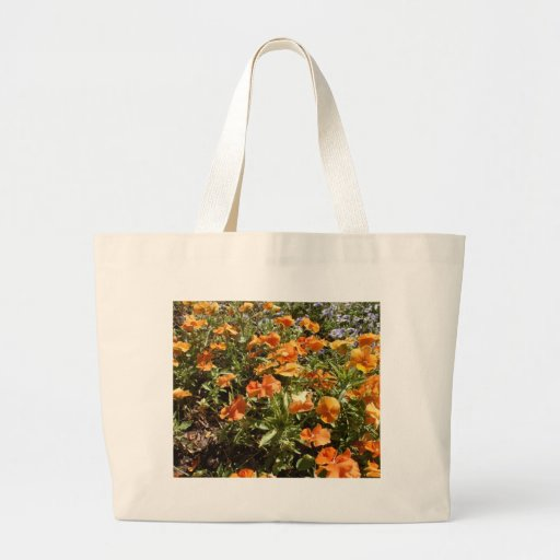 Viola Panola Deep Orange Tote Bag