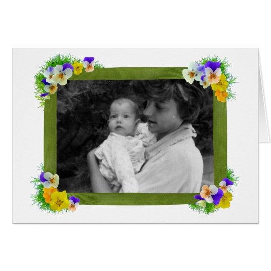 Viola Photo Card