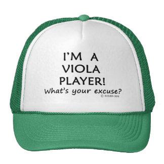 Viola Player Excuse Mesh Hat