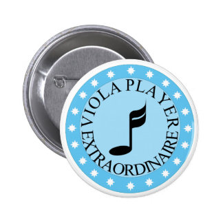 Viola Player Extraordinaire Button