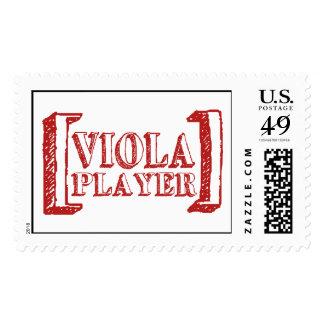 Viola Player Postage