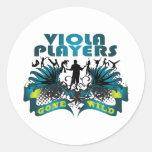 Viola Players Gone Wild Stickers