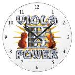 Viola Power Clock