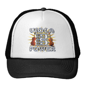 Viola Power Trucker Hat