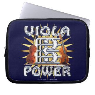 Viola Power Laptop Sleeves