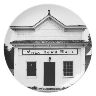 Viola Town Hall Plate