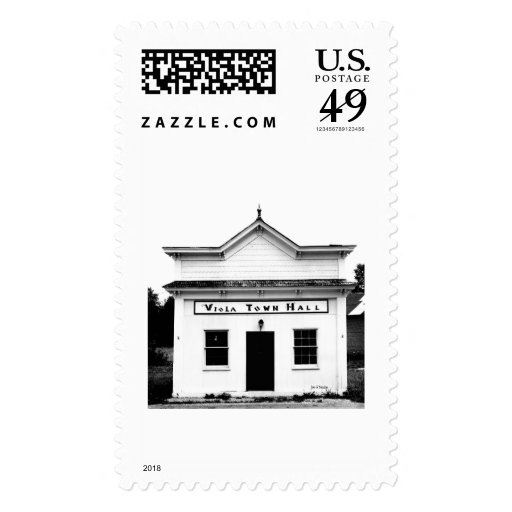 Viola town hall stamps
