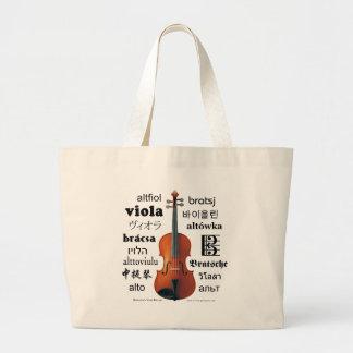 Viola Translations Tote Bags