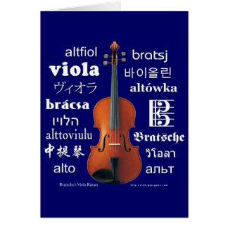 Viola Translations Card