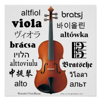 Viola Translations Poster
