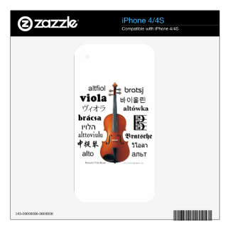 Viola Translations Skins For The iPhone 4