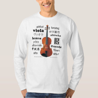 Viola Translations T-shirt