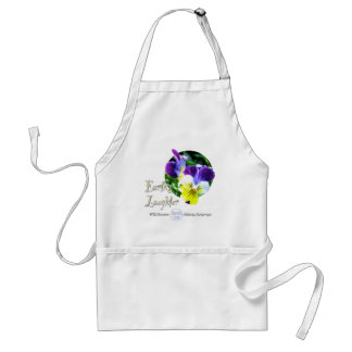 Viola Wildflower Laughter Apron
