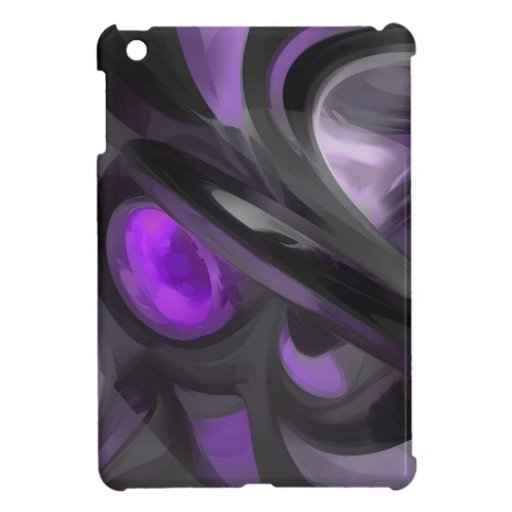 Violaceous Pastel Abstract Case For The iPad Mini