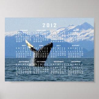 Violación de la ballena jorobada; Calendario 2012 Posters
