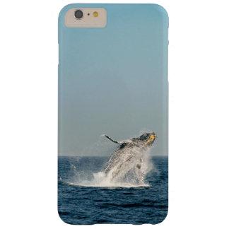 violación de la ballena jorobada funda barely there iPhone 6 plus