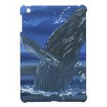 Violación de la ballena jorobada iPad mini cárcasa